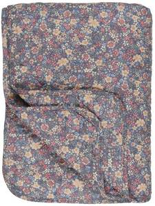 Bilde av Quilt lavendel m/blomster