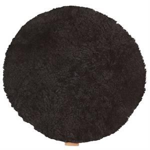 Bilde av Ida stolpute - 38cm rund, svart