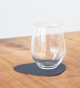 Bilde av Glass Mat Curve dark blue